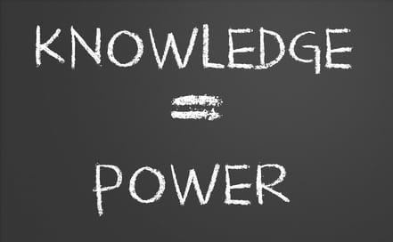 Knowledge = Power