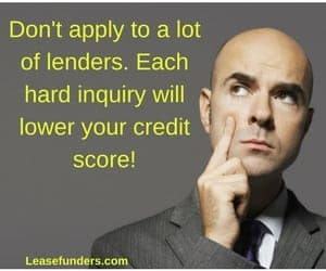 hard inquiries will lower your credit score