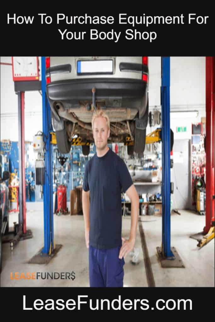 how to purchase equipment for your autobody shop