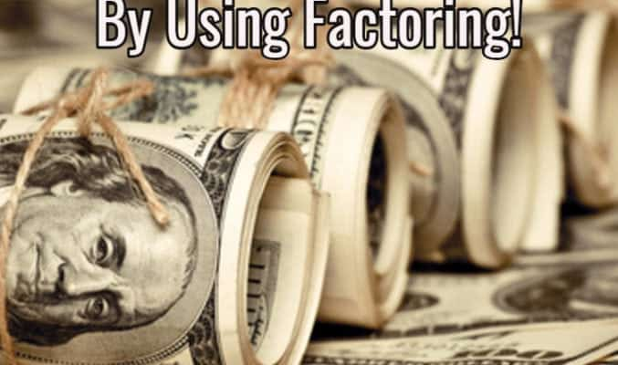 improve your cash flow using factoring