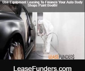 purchase your auto body shops paint booth using equipment leasing