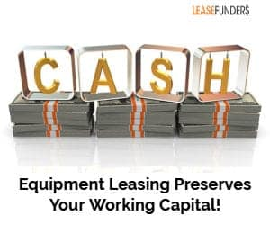 equipment leasing preserves working capital