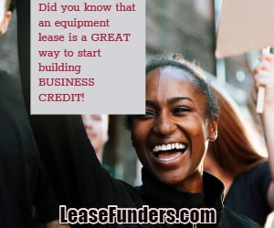 equipment leasing builds business credit