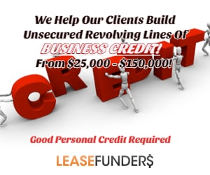 business line of credit good credit required