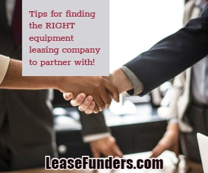equipment leasing partner