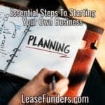 Essential Steps To Starting A Successful Small Business