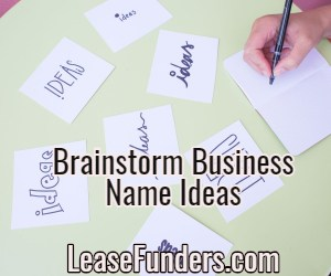brainstorm business name ideas