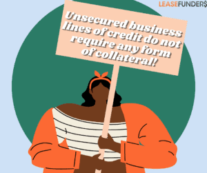 unsecured business line of credit no collateral