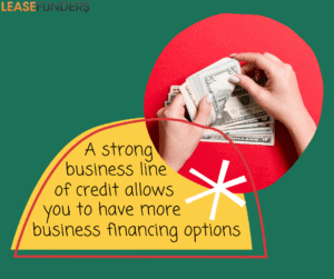 business line of credit allows more business financing options